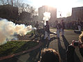 2014-12-27 15 00 05 Reenactors firing a cannon in Mill Hill Park during a reenactment of the Second Battle of Trenton in Trenton, New Jersey.JPG