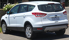 2014 Ford Kuga (TF II MY15) Ambiente EcoBoost 2WD wagon (2014-12-14).JPG