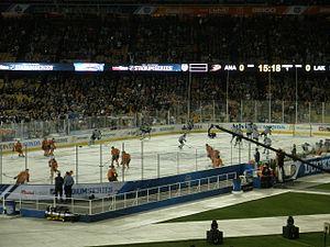 2014 NHL Stadium Series - Image: 2014 NHL Stadium Series Doger Stadium (12154100663)