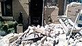 2014 South Napa earthquake Sam Kee Laundry Building debris.jpg