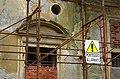 2014 giu Villa Pellegrini Marioni Pullè, Chievo, Verona, photo Paolo Villa wing, Doric - Tuscan order, circular tympanum, window FOTO6308BIS.JPG