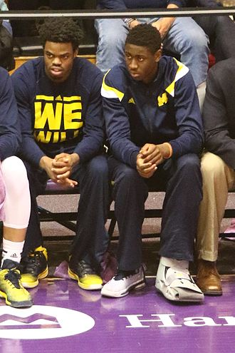 Caris LeVert - When Derrick Walton and LeVert were sidelined for the season in January 2015, the 2014–15 Wolverines began to struggle