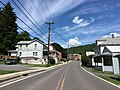 2016-06-18 15 24 39 View north along Maryland State Route 36 (Main Street) between Detmold Street and Union Street in Lonaconing, Allegany County, Maryland.jpg
