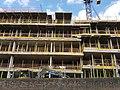2016 Woolwich, Trinity Walk, construction site 08.jpg