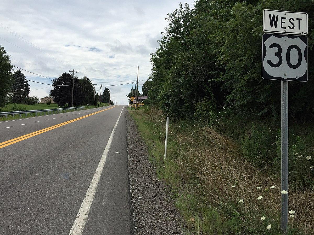 U.S. Route 30 in West Virginia - Wikipedia
