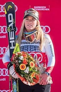 Lara Gut-Behrami Swiss alpine skier