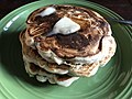 2018-04-04 18 38 13 Blueberry pancakes with butter in Ewing Township, New Jersey.jpg