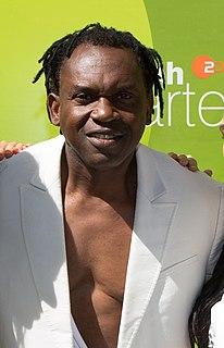 Dr. Alban Nigerian-born Swedish musician and producer
