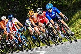 20180929 UCI Road World Championships Innsbruck Women Elite Road Race Peloton 850 7550.jpg