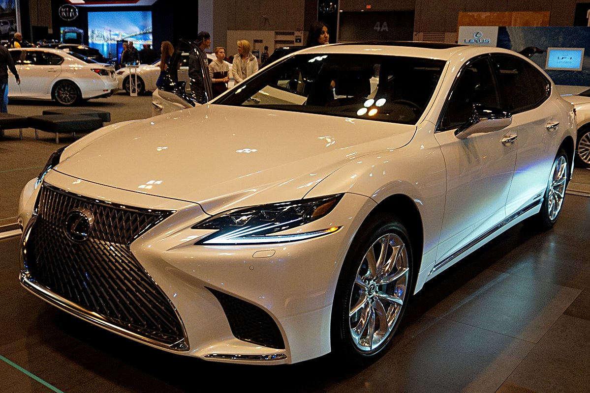 Toyota Lexus 2018 >> Lexus LS - Vikipedi