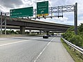 2019-05-27 14 02 14 View south along the inner loop of the Capital Beltway (Interstate 95 and Interstate 495) at Exit 2A (National Harbor) near National Harbor in Prince George's County, Maryland.jpg
