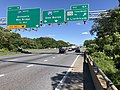2019-06-14 16 37 03 View east along the Outer Loop of the Baltimore Beltway (Interstate 695) at Exit 6A (Maryland State Route 170 NORTH-Camp Meade Road, North Linthicum) in Linthicum, Anne Arundel County, Maryland.jpg