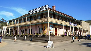 Cosmopolitan Hotel and Restaurant United States historic place
