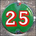 25 house number in Lincoln, England.jpg