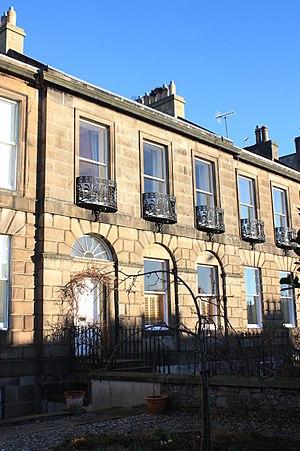 William Maxwell Hetherington - Hetherington's house at 27 Minto Street, Edinburgh