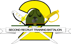 2nd Recruit Training Battalion (United States) - 2nd BN insignia