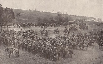 Indian Army during World War I - Indian cavalry from the Deccan Horse during the Battle of Bazentin Ridge