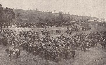 Indian cavalry from the Deccan Horse during the Battle of Bazentin Ridge in 1916.