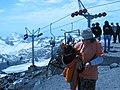 """3-ий подъёмник на Эльбрус, """"Приют 11-ти"""" - 3800м над уровнем моря, июль 2008 - panoramio.jpg"""