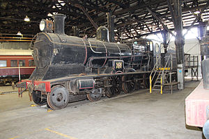 New South Wales C32 class locomotive - Image: 3203 at Broadmeadow