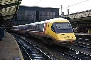 British Rail Class 370 - Image: 370003 Carlisle 1