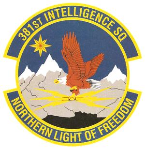 381st Intelligence Squadron - Image: 381st Intelligence Squadron