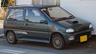 Subaru Rex - Second facelift, third generation Rex VX Supercharger (KH3)