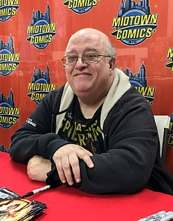 Peter David American writer of comic books, novels, television, movies and video games