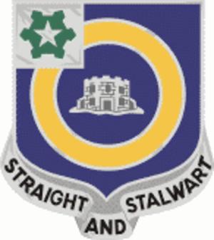 41st Infantry Regiment (United States) - Image: 41 Inf Regt DUI