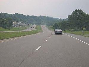 U.S. Route 421 - U.S. 421 near Bristol (2006-06-11).