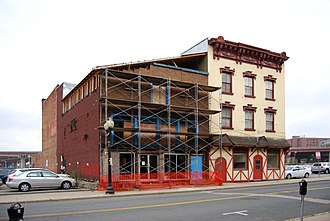 48 Hudson Avenue - 48 Hudson Avenue undergoing preservation and restoration in 2009