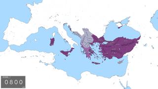 Byzantine Empire under the Isaurian dynasty