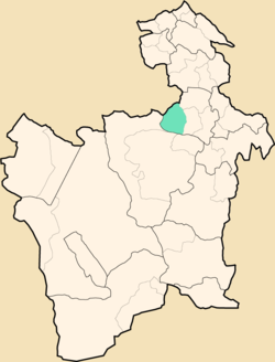Location within Potosí Department
