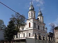 616163 małopolskie gm Słomniki Słomniki zesp kościoła.JPG