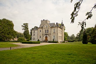 Vilvoorde - Castle Hyenhoven in Peutie, a borough of Vilvoorde