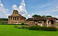 8th century Durga temple exterior view, Aihole Hindu temples and monuments 3.jpg