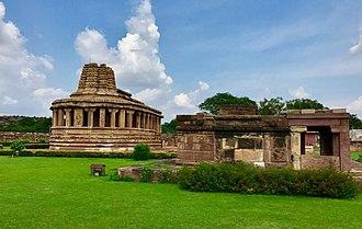 Aihole - Durga temple cluster at Aihole