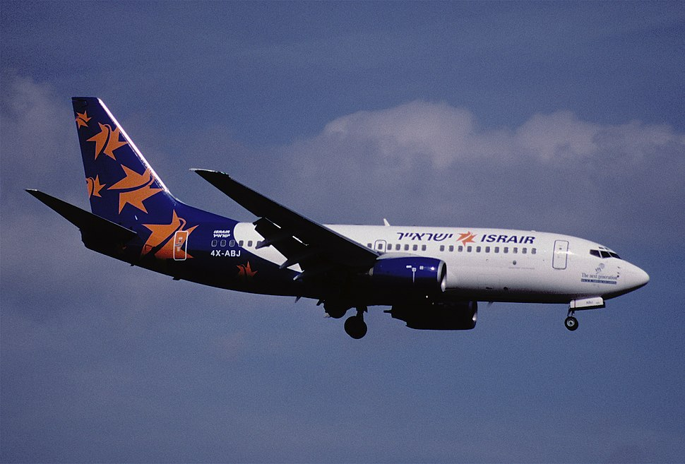 91ac - Israir Boeing 737-73S, 4X-ABJ@ZRH,25.03.2000 - Flickr - Aero Icarus