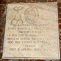9600 - Milano - Sant'Ambrogio - Cortile - Lapide Gio. Batt. Peranni 1630 - Foto Giovanni Dall'Orto 25-Apr-2007.jpg