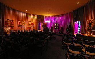 United States Air Force Chaplain Corps - The Jewish Chapel in the Air Force Academy Cadet Chapel.