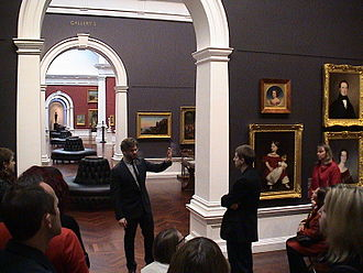 Art Gallery of South Australia - AGSA director Nick Mitzevich addressing Museums Australia conference delegates, 2012