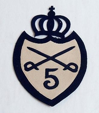 Scanian Hussar Regiment - Image: AM.012817