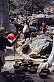 ASC Leiden - W.E.A. van Beek Collection - Dogon daily life 07 - Joint meal after the excavation of the well, Tireli, Mali 1983.jpg