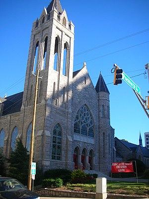 Culture of Georgia (U.S. state) - Saint Mark United Methodist church