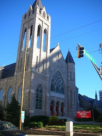 Culture of Georgia (U.S. state) - Saint Mark United Methodist church