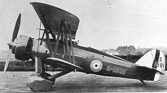 Armstrong Whitworth A.W.16 - First prototype with double Townsend ring