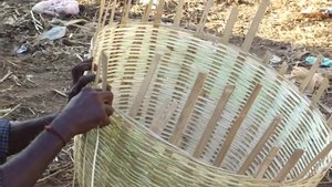 File:A bamboo basket making depiction video.ogv