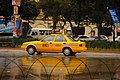 A classic yellow cab at Guatemala City.jpg