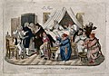 A family threatened by influenza is prepared for a large sca Wellcome V0011966.jpg