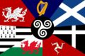 A flag made of various others.png